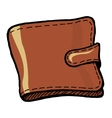 Wallet vector image vector image