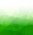 Abstract Triangle Geometrical green Background vector image vector image