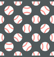 baseball softball sport game seamless vector image