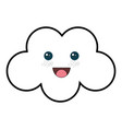 beautiful cloud baby vector image vector image