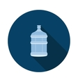 bottle from the water cooler vector image vector image