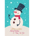 Christmas greeting card background poster vector image vector image
