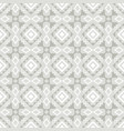 grey and white ornamental seamless pattern vector image