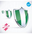 I Love Nigeria Flag vector image vector image