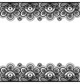 Old lace vintage background vector image vector image