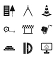 Repair tools icons set simple style vector image vector image