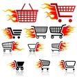 Shopping Cart Sign vector image