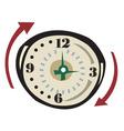 vector clock vector image vector image