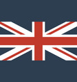 flag of the great britain vector image