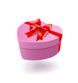 gift box isolated on white background vector image