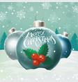 happy snowmen vector image vector image