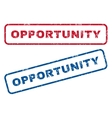 Opportunity Rubber Stamps vector image vector image