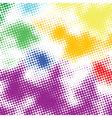 random halftone vector image vector image