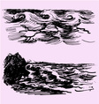 sea ocean wave vector image