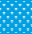 star burger pattern seamless blue vector image vector image