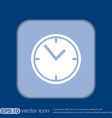 clock watches icon vector image vector image