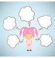 Dream girl cartoon