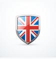 england shield icon vector image vector image