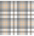 gold silver color tartan seamless pattern vector image