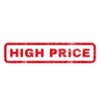 High Price Rubber Stamp vector image vector image