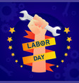 labor day in america background design template vector image vector image