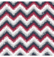 ombre low poly crystallized chevron seamless tile vector image vector image