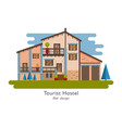 rural house vector image vector image