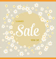 sale card natural tree branches botanical vector image vector image