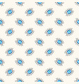 seamless geometric pattern with greek evil vector image vector image
