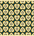 seamless retro abstract pattern vector image vector image