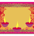 abstract diwali celebration background vector image