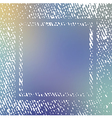 Handcrafted texture frame on blurred background vector image vector image