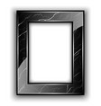 Marble frame for photo vector image vector image