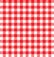 red table cloth background seamless pattern vector image vector image