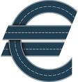 symbol euro vector image