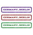 germany berlin watermark stamp vector image