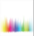 abstract colorful spectrum rainbow background vector image vector image