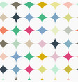 abstract seamless retro tile pattern with vector image vector image