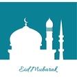 Arab mosque vector image vector image