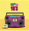 eighties and nineties style vector image