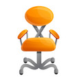 modern chair icon cartoon style vector image vector image