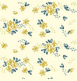 naive simple floral seamless pattern vector image vector image