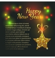 New Years card vector image vector image