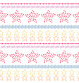 stars ethnic seamless pattern background fashion vector image vector image