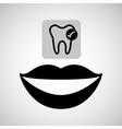dental care icon vector image vector image