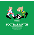 Football Match vector image