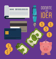 Funding design vector image