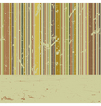 vector striped grunge background vector image vector image