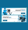 website banners design template business vector image