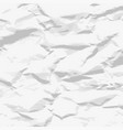 crumpled paper texture stylish vector image